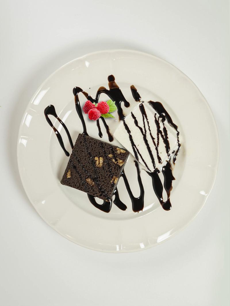 Browinie de chocolate